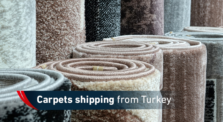 Carpet shipping from Turkey