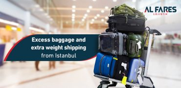 Shipping luggage and bags and excess weight from Istanbul