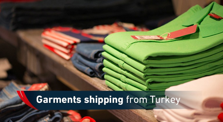 Shipping clothes from turkey