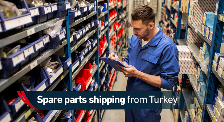 Shipping spare parts from Turkey