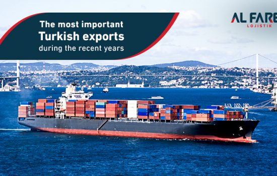 The most important Turkish exports during the past years