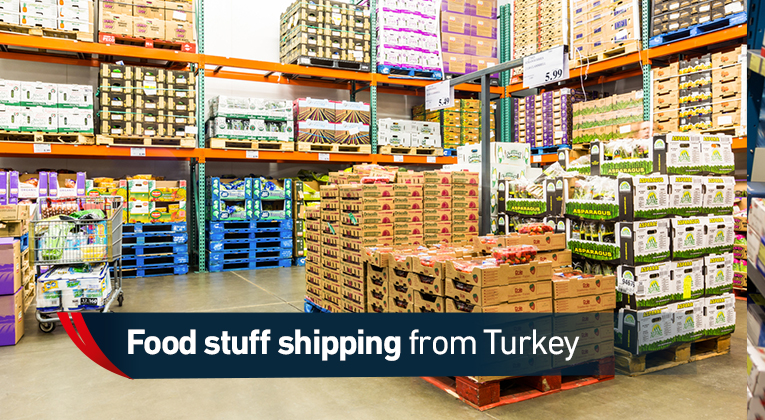 Shipping food from Turkey