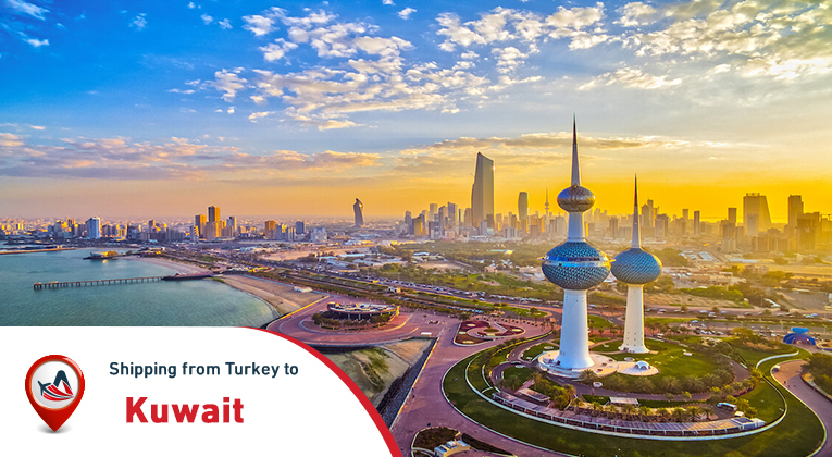 Shipping from Istanbul to Kuwait