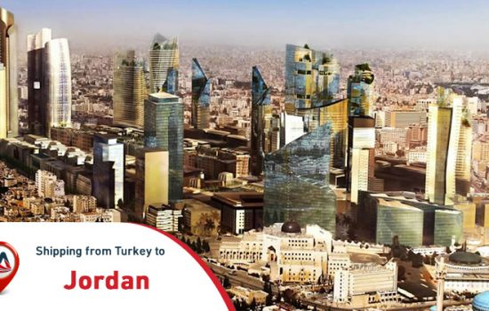 Shipping from Turkey to Jordan