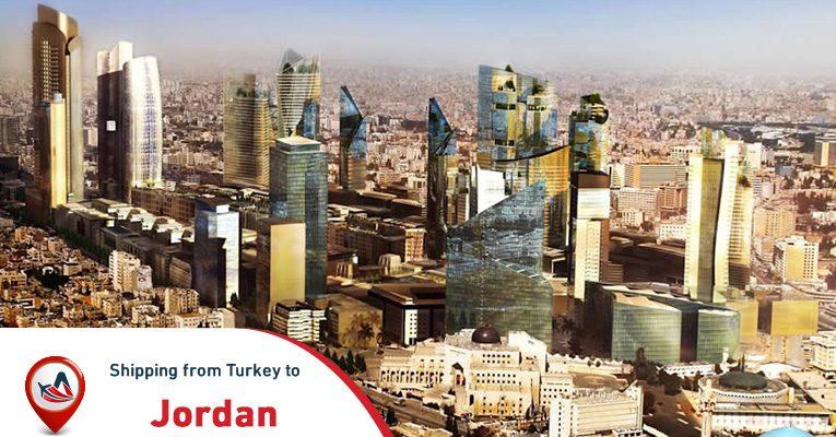 Shipping from Turkey to Jordan