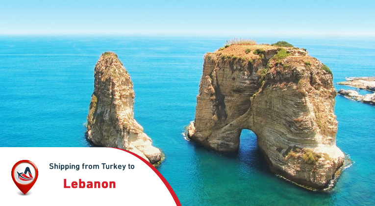 Shipping from Turkey to Lebanon