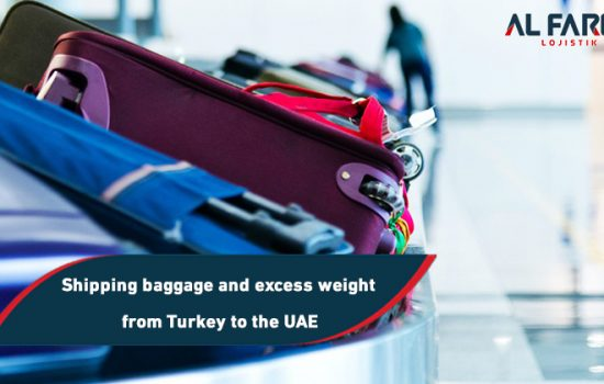Shipping baggage and excess weight from Turkey to the UAE